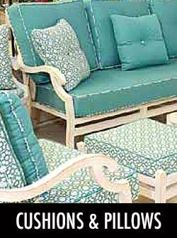 Cushions by Stoney Creek Products & Sunbrella