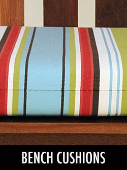 Bench Cushions by Stoney Creek Products & Sunbrella
