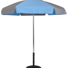 6.5 Ft Pop-Up Steel Rib Patio Umbrella - With Push Button Tilt