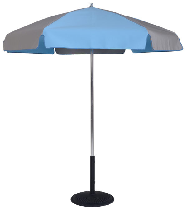 6.5 Ft Pop-Up Steel Rib Patio Umbrella - With Push Button Tilt
