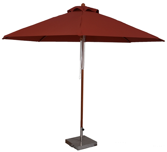 11 Ft Wood Market Umbrella Custom Made In The Usa