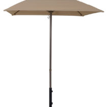 5.5 Ft. Aluminum Market Square Pop-Up Umbrella