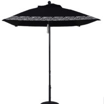 6.5 Ft. Aluminum Market Square Double Pulley Umbrella