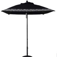6.5 Ft. Aluminum Market Square Double Pulley Umbrella
