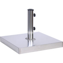 55 lb. Stainless Steel Cement Umbrella Base