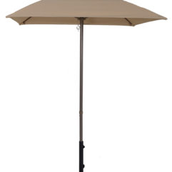 6.5 Ft. Square Market Umbrella with Auto-Tilt