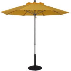 Sunbrella 7.5 Ft. Aluminum Pop-Up Market Umbrella