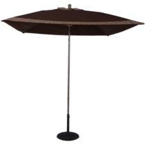 Custom 7.5 ft. Aluminum Market Square Auto-Tilt Umbrella