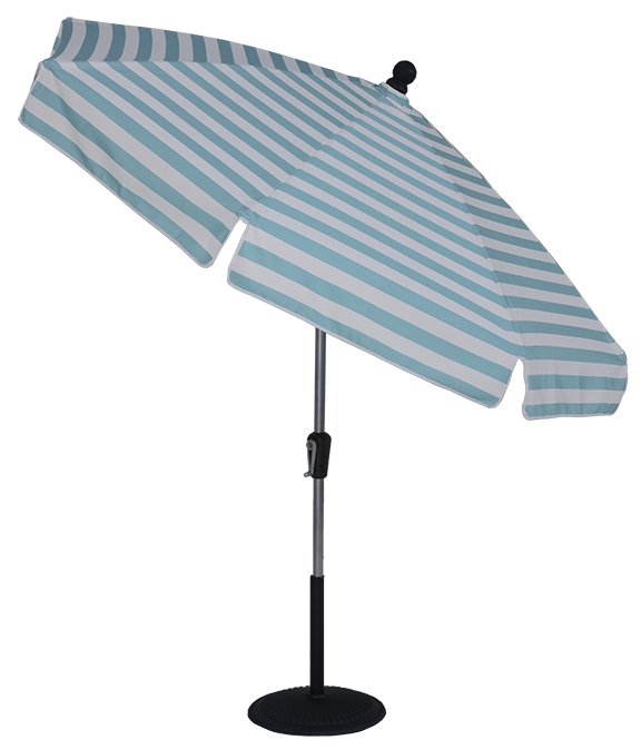 7.5 ft Crank & Manual Tilt Patio Umbrella