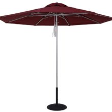 11 Ft. Market Umbrella With Pulley Lift