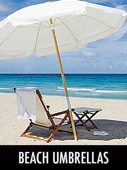 Sunbrella® Beach Umbrellas