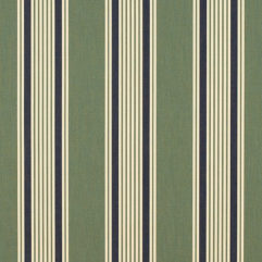 Sunbrella® Fabric 4995-0000 Ashford Forest (Awning Stripe)