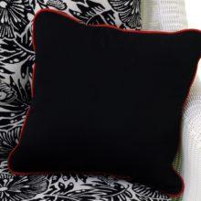 Example of custom Sunbrella® toss pillow