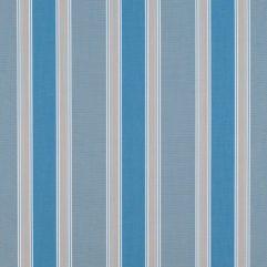 Sunbrella® Fabric 4992-0000 Baycrest Sky (Awning Stripe)