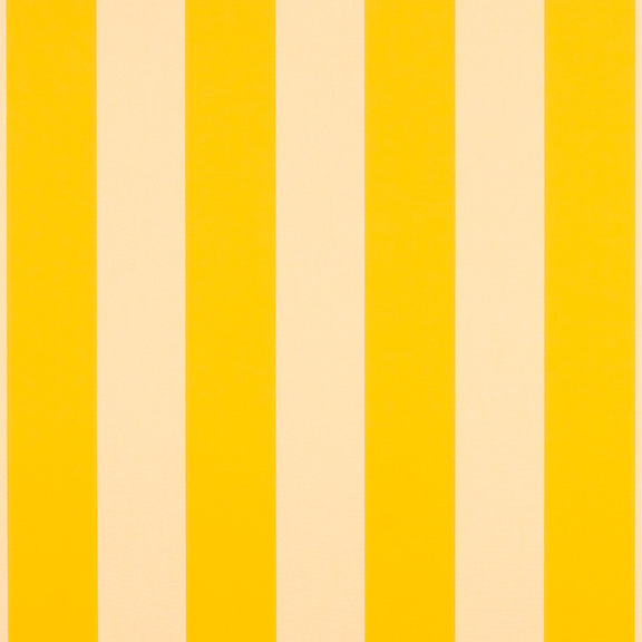 Sunbrella Fabric ® 5702-0000 Beaufort Yellow/White 6 Bar