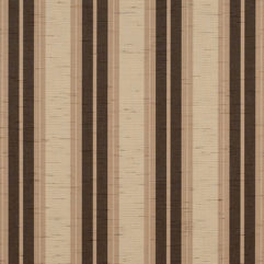Sunbrella® Fabric 4776-0000 Chocolate Chip Fancy (Awning Stripe)