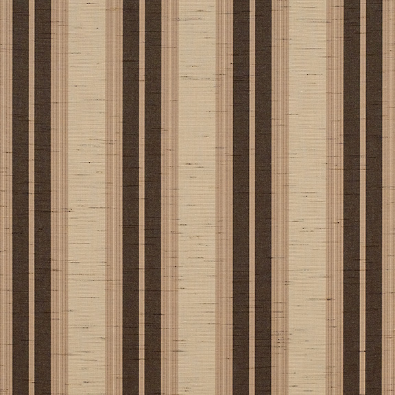 SunbrellaR Fabric 4776 0000 Chocolate Chip Fancy Awning Stripe