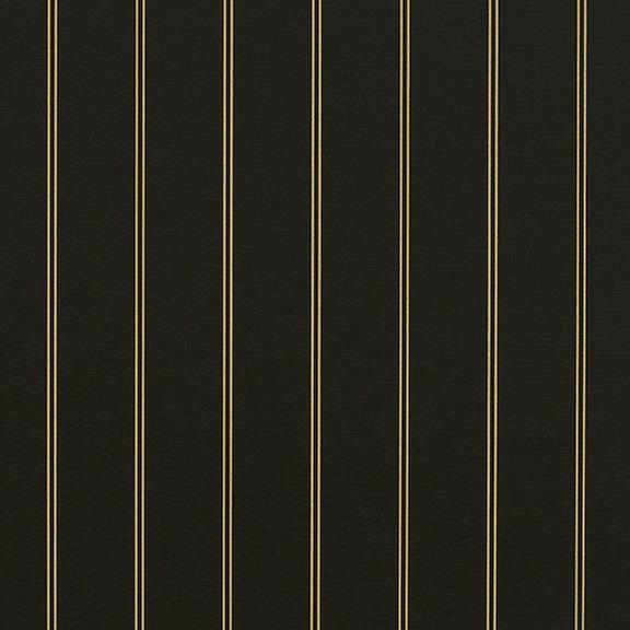 Sunbrella® Fabric 4988-0000 Cooper Black (Awning Stripe)