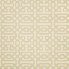 Sunbrella Fabric 45991-0001 Fretwork Flax