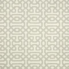 Sunbrella Fabric 45991-0002 Fretwork Pewter