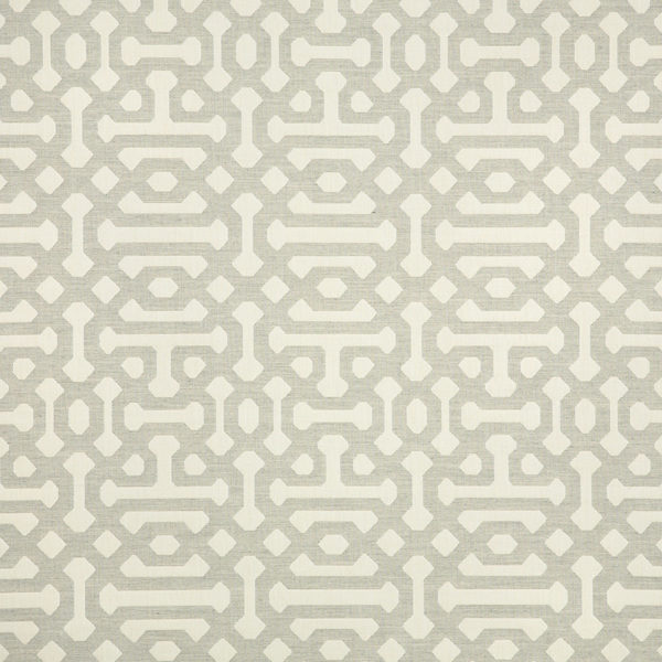 Sunbrella Fabric 45991-0002 Fretwork Pewter