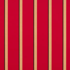 Sunbrella® Fabric 4991-0000 Manteo Cardinal (Awning Stripe)