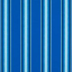 Sunbrella® Fabric 4755-0000 Pacific Blue Fancy (Awning Stripe)