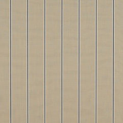 Sunbrella® Fabric 4961-0000 Putty Regimental (Awning Stripe)