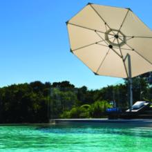 Sunbrella®13 ft. Eclipse Octagon Cantilever Umbrella