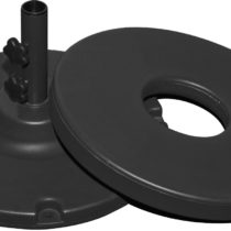 70 lb. Black Umbrella Base